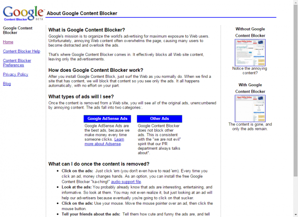 google-content-blocker