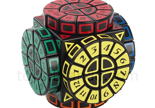 ルーレットキューブ – ダイヤル+ルービックキューブ