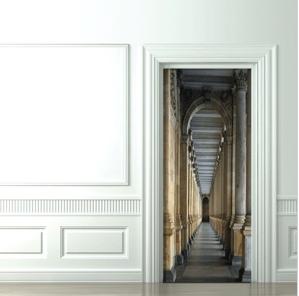door-decal-castel-corridor