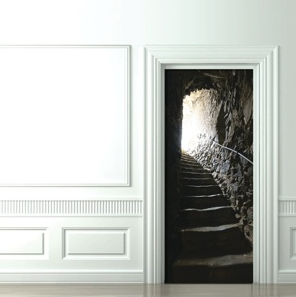 door-decal-french-catacombs-stairs