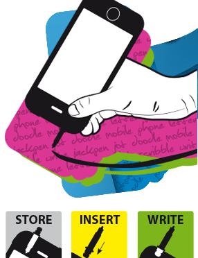 Jackpen – イヤホンジャックを使ってスマートフォンをペンにするアイテム