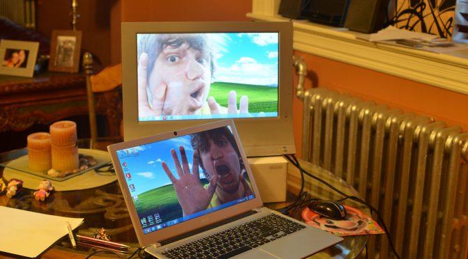 父親がパソコンに取り込まれてしまう悪夢を見た娘に、その父親がしてあげたこと