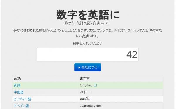 PHPで数字を英語に変換する