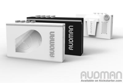 Audman – iPhoneをウォークマン風にするケース