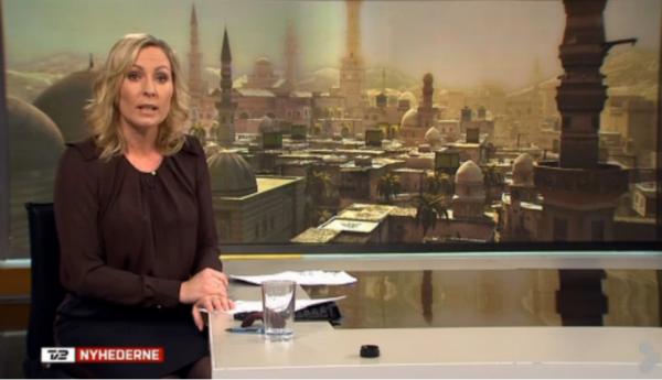 デンマークのテレビ局、シリアのニュース映像に誤ってゲーム「アサシン・クリード」内のシリアのCG風景を使用