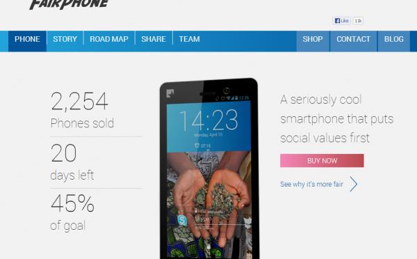 Fairphone – 社会にやさしいスマートフォン