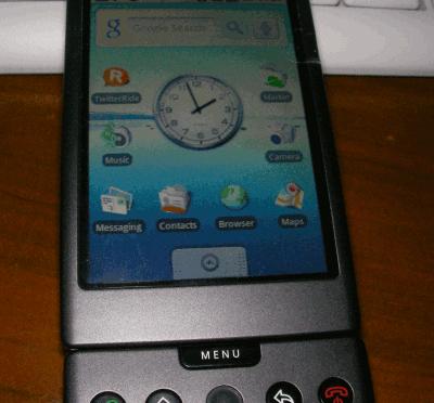 Android携帯を入手しました