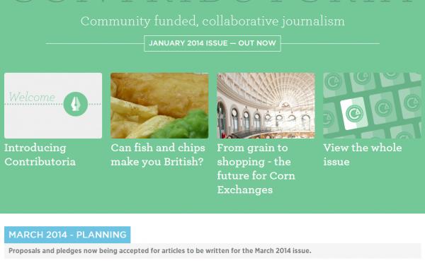 Contributoria – クラウドファンディング・ジャーナリズムの試み