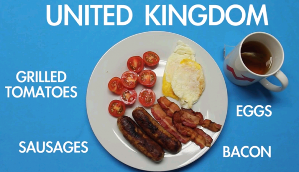 [動画] 世界の人々は朝食に何を食べているのか?