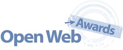 Open Web Awardsへの推薦リスト決定