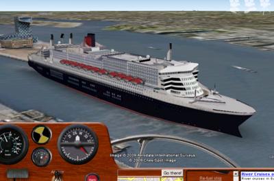 Ships – Google Earth APIを使った船シミュレーター