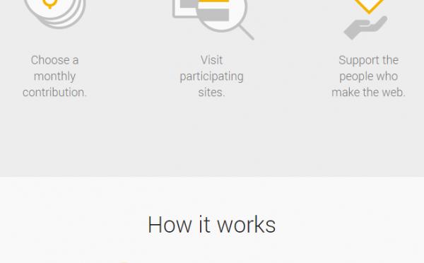 Googleコントリビューター – サイトのファンから毎月少額を貰い、広告を非表示にするグーグルの新実験サービス