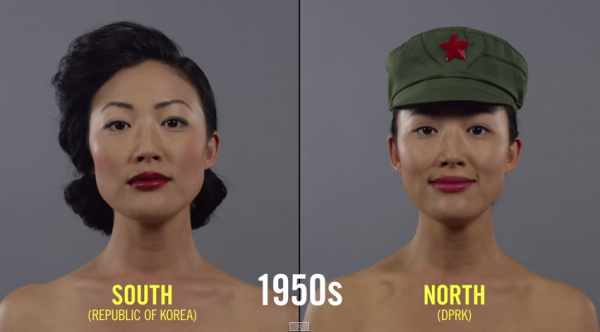 動画100年の美容、韓国/北朝鮮版