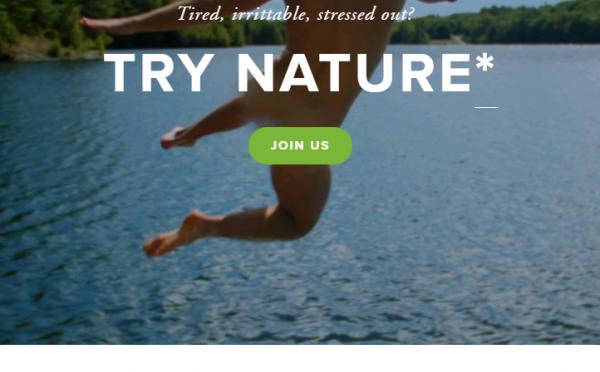 Nature RX – 「自然薬」のコマーシャル