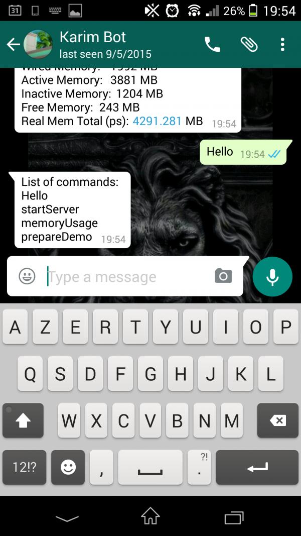 whatsappcli-hello