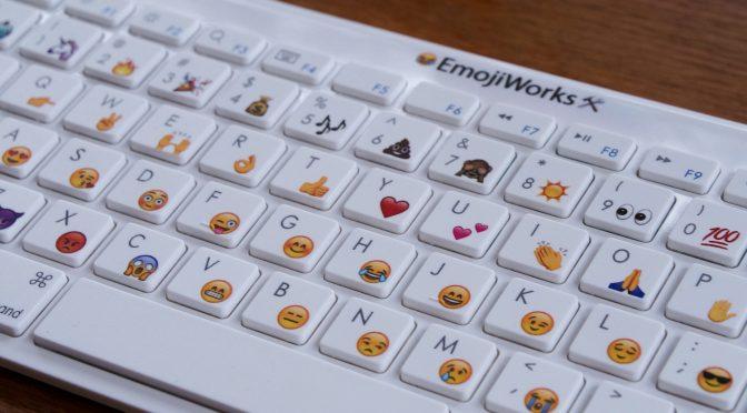 物理絵文字キーボード EmojiWorks が登場