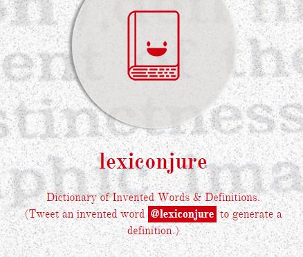 lexiconjure – 機械学習で英単語の意味を作り上げるツイッターbot