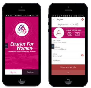 chariot-for-women-app