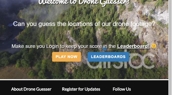 Drone Guesser – ドローン映像から撮影地を当てるクイズサイト