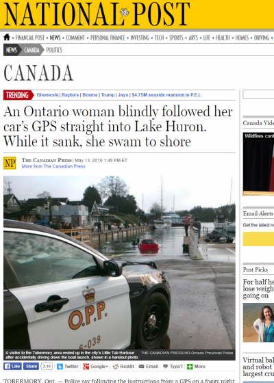 national-post-canadian-woman-plunges-into-lake-by-gps
