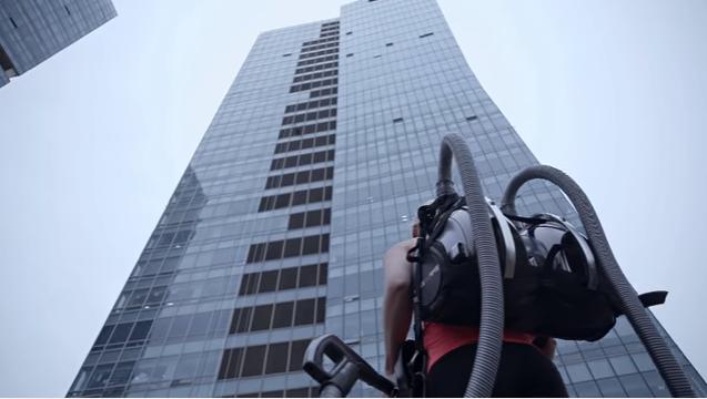 vacuum-climbing
