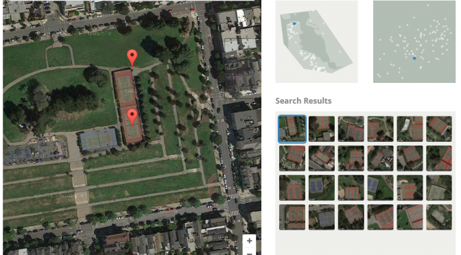 TERRAPATTERN – 航空写真地図の類似画像検索サービス