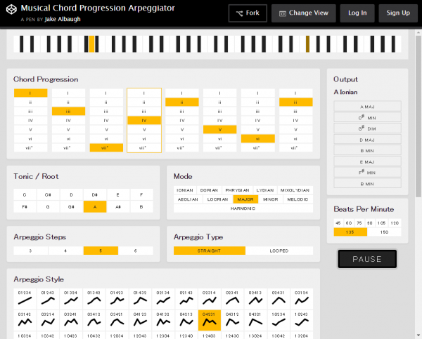 musical-chord-progression-arpeggiator