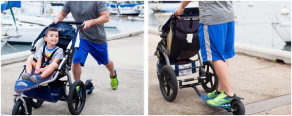 キックベビーカー – ベビーカーと走れるアタッチメントスケーター