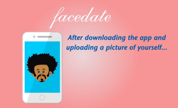 Facedate – 「好みのタイプ」の顔写真を何枚か与えると似てるメンバーを紹介するデートアプリ