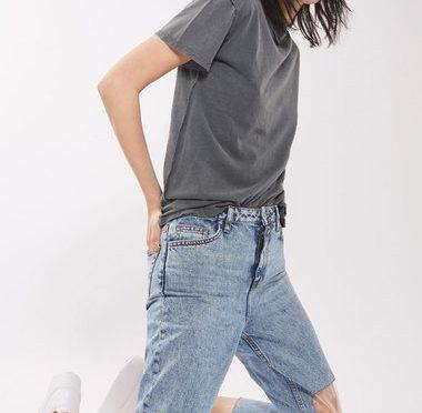 透明プラスチックでヒザが見える、新機軸の穴あきジーンズが発売