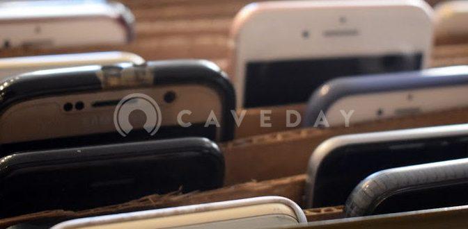 Caveday – 集中するためにスマートフォンを取り上げてくれるワークイベント