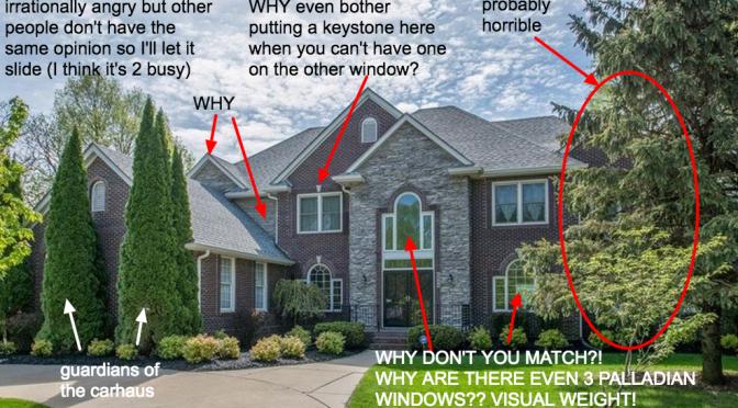 McMansion Hell – マックマンション(粗製乱造された豪邸)を批評するブログ