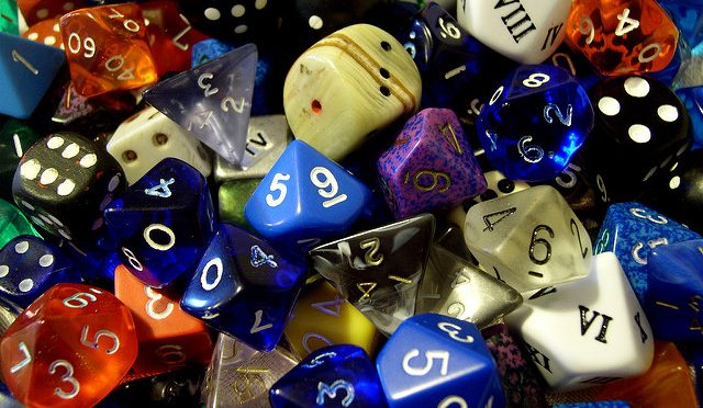 Dice by James Bowe