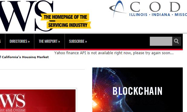 米Yahoo!の株価/為替APIが停止