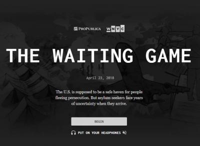 The Waiting Game – 入国収容所の難民を追体験できるブラウザゲーム