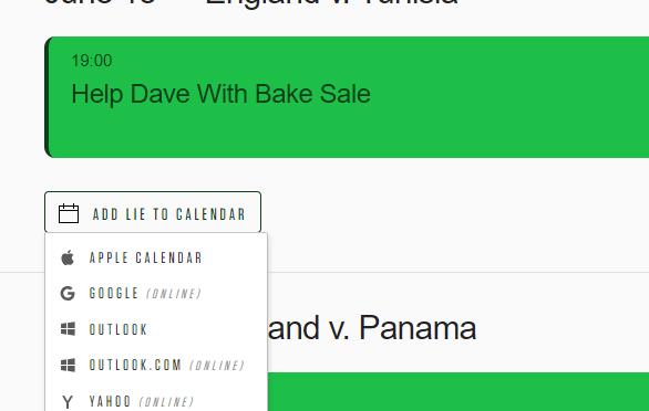 World Cup Calendar Blocker – ワールドカップの試合時間にフェイクの予定を入れるため(だけ)のサイト