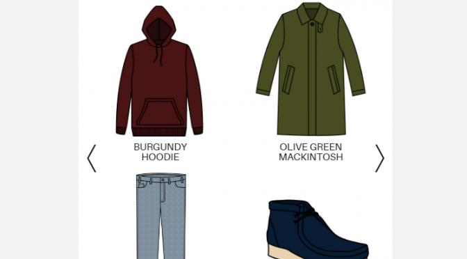 twelve70 – 服や靴とその色を選んだら、コーディネートを提案してくれるサービス