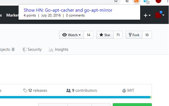 webページがHacker Newsで言及されているか調べるAPIとChrome拡張