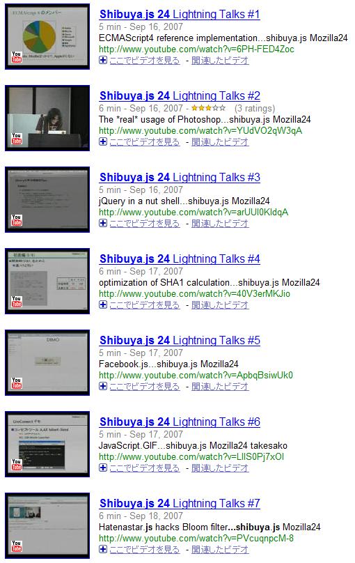 Shibuya.js 24 - Google Video
