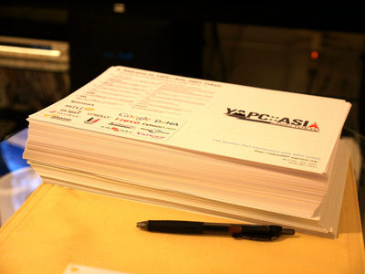 YAPC::Asia 2007 Tokyo 公式パンフレット